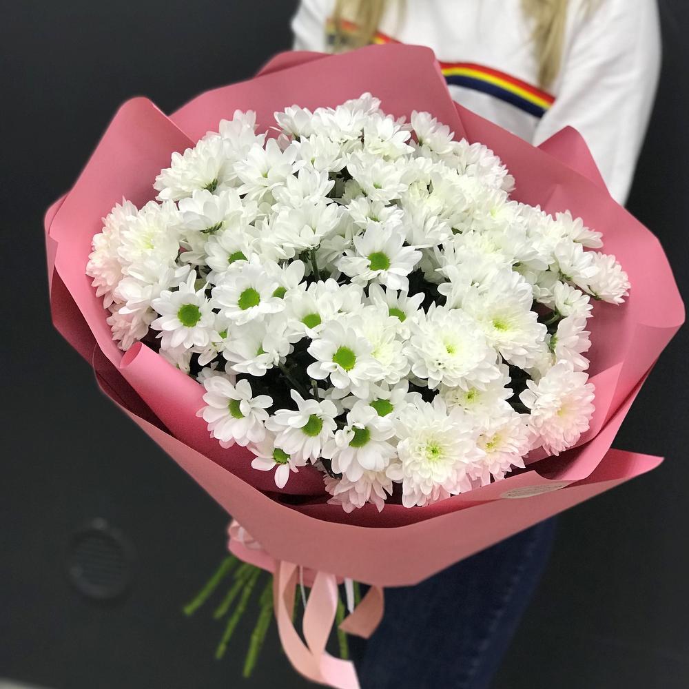 Составить, букет из хризантем в гостевую визу