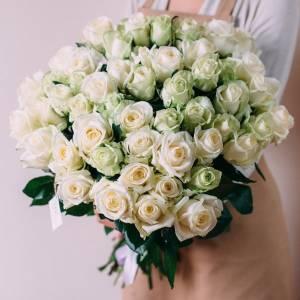 Белые розы R015