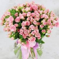 Букет 31 кустовая роза R009