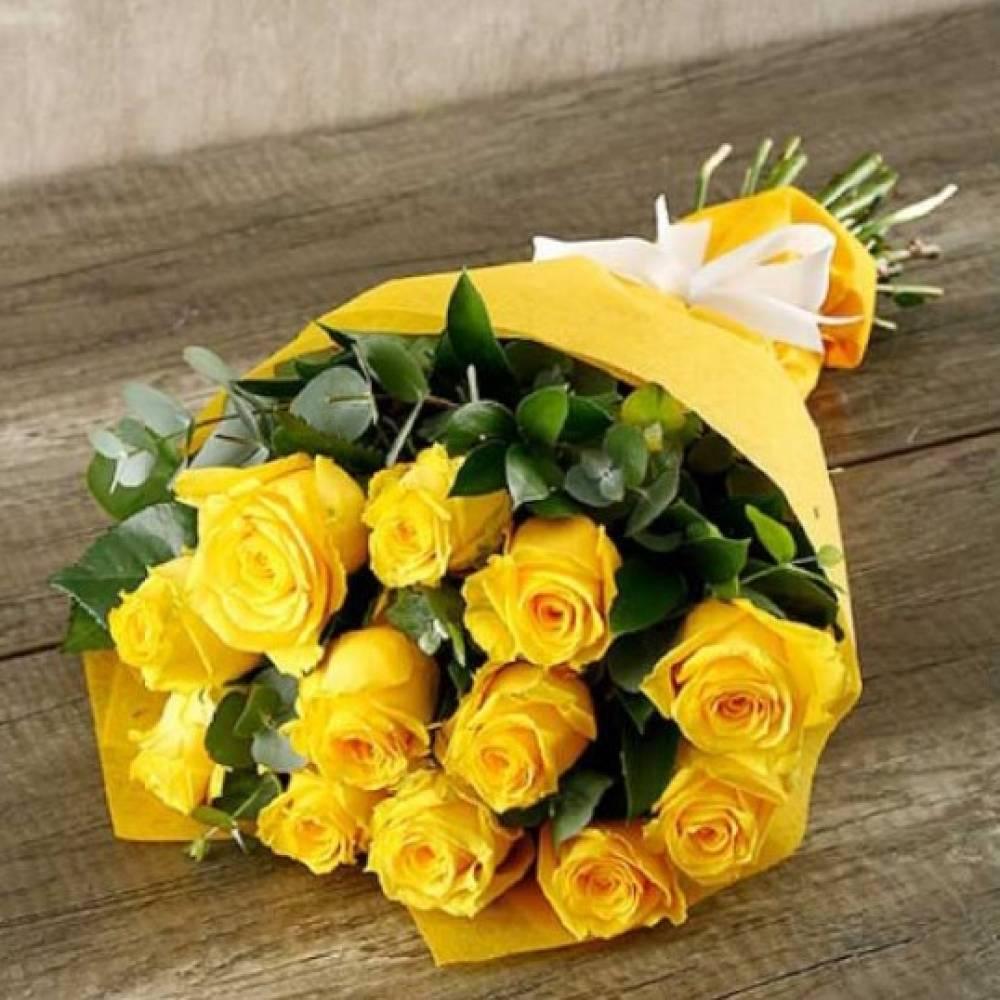 варианты отделки, красивые букеты желтых роз фото родилась семье